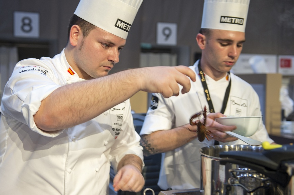 Bocuse d'Or-equipo-español-final europea 2016